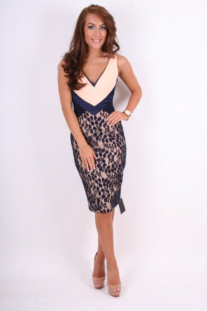 hybrid-hybrid-mayfair-pale-pink-navy-v-neck-contrast-lace-knee-length-dress-p1991-7022_image